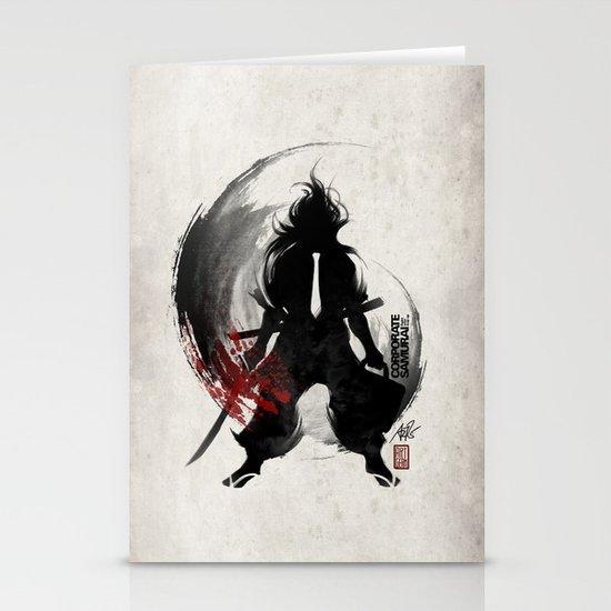 Corporate Samurai Stationery Card