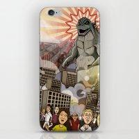 Godzilla!!! iPhone & iPod Skin