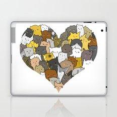 I Love Cats Laptop & iPad Skin