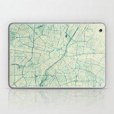 Munich Map Blue Vintage Laptop & iPad Skin