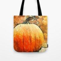 Last Autumn Sketches  Tote Bag
