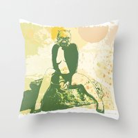 Tusken Layder Throw Pillow