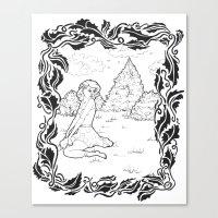 Pin Up 001 Canvas Print