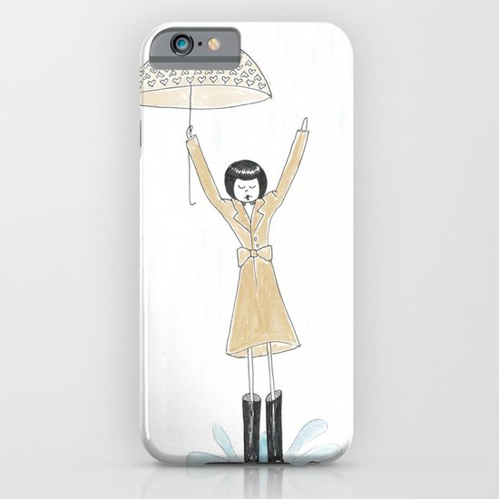 Puddle jumping iPhone & iPod Case