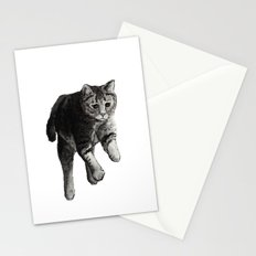 Jumping Cat Stationery Cards