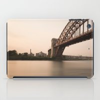 Hell Gate Bridge (NYC) at Sunset iPad Case