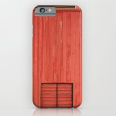 Red Wall iPhone 6 Slim Case