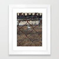 The Silver Hobby Horse 4 Framed Art Print