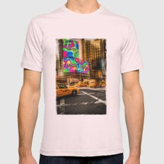 New York - Van Wagner Mens Fitted Tee Light Pink SMALL
