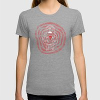 The Lonely Cyclops of Skull Isle Womens Fitted Tee Tri-Grey SMALL