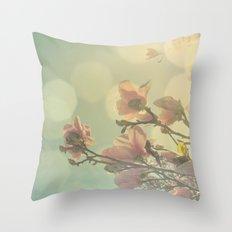 SPRING HEAVEN Throw Pillow