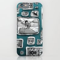 iPhone & iPod Case featuring Forever Ancient Moment Immediately Later Yesterday by Ben Geiger