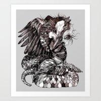 Snicken Art Print