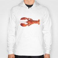 Geometric Lobster Hoody