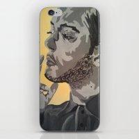 A Casual Smoke  iPhone & iPod Skin