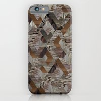 iPhone & iPod Case featuring Wood Quilt by PatternPeople