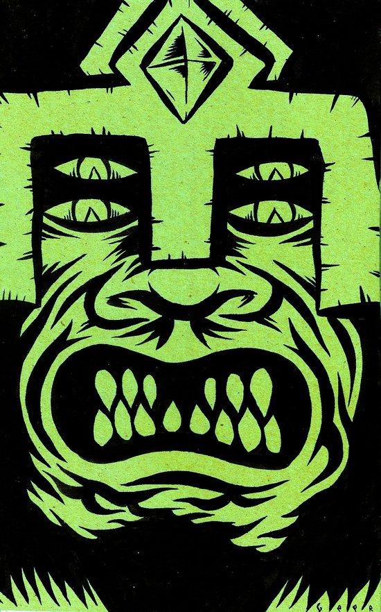 demon lord Art Print