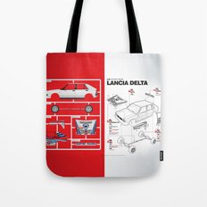 Lancia Delta History Model Kit in the WRC Tote Bag