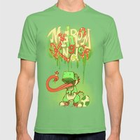 Yo Yoshi! Mens Fitted Tee Grass SMALL