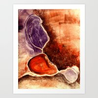 Organic Flow Art Print
