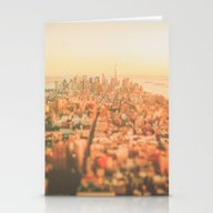New York City Sunset Stationery Cards
