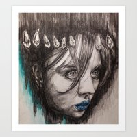 Eyes On You    BY.Davy W… Art Print
