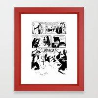Crusaders Of Oz Framed Art Print