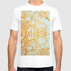 Folie White Mens Fitted Tee SMALL