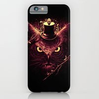 iPhone & iPod Case featuring Meowl by nicebleed