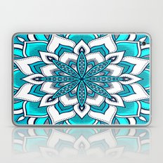 Mandala Flower : Turquoise Blue  Laptop & iPad Skin