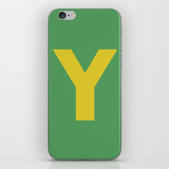 Y is for... iPhone & iPod Skin