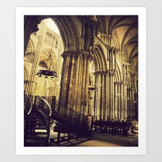 The Cathedral II Art Print