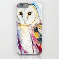 iPhone Cases featuring Barn owl by Slaveika Aladjova