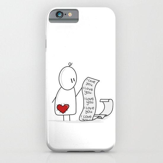 I Love You... A Lot. iPhone & iPod Case