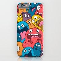 iPhone & iPod Case featuring Weird Bros by Chris Piascik