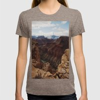 Marble Canyon Womens Fitted Tee Tri-Coffee SMALL