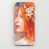 iPhone & iPod Case featuring Flower scent by Aurora Wienhold