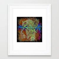 DESFLEURSPOURTOI Framed Art Print