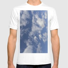 Summer SMALL Mens Fitted Tee White