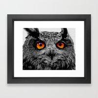YOU'RE THE ORANGE OF MY … Framed Art Print