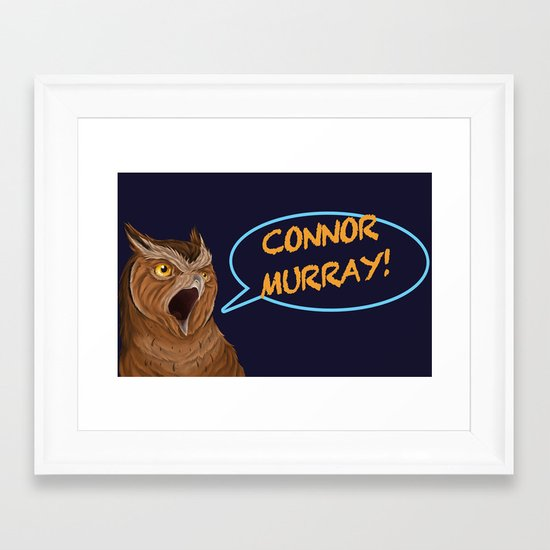 connor murray Framed Art Print