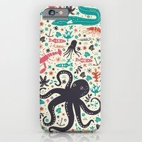 iPhone Cases featuring Sea Patrol by Anna Deegan