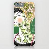 iPhone & iPod Case featuring Anna Achmatova by MENAGU'