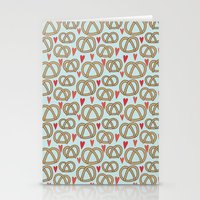 Pattern Project #43 / Pretzel Love Stationery Cards