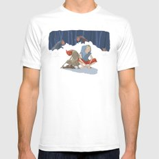 henon adventure Mens Fitted Tee White SMALL