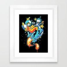 A is for Astronaut Framed Art Print