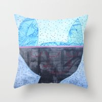 Bunny#2 Throw Pillow