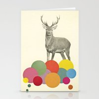 Stag In Heaven Stationery Cards