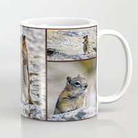 Chipmunk Collage Mug