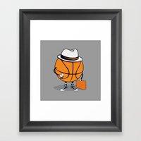 Traveling GY Framed Art Print